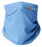 Mesh Lacrosse The Sky Blue Neck Gaiter/Mask