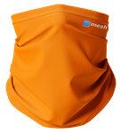 Mesh Lacrosse The Sunset Orange Neck Gaiter/Mask