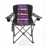 FOLDING CAMP CHAIR SOUTHWEST DESIGN, ASST COLORS