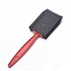 "1"" FOAM PAINT BRUSH, RED HANDLE"