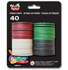 POKER CHIPS, 40 PER CARD
