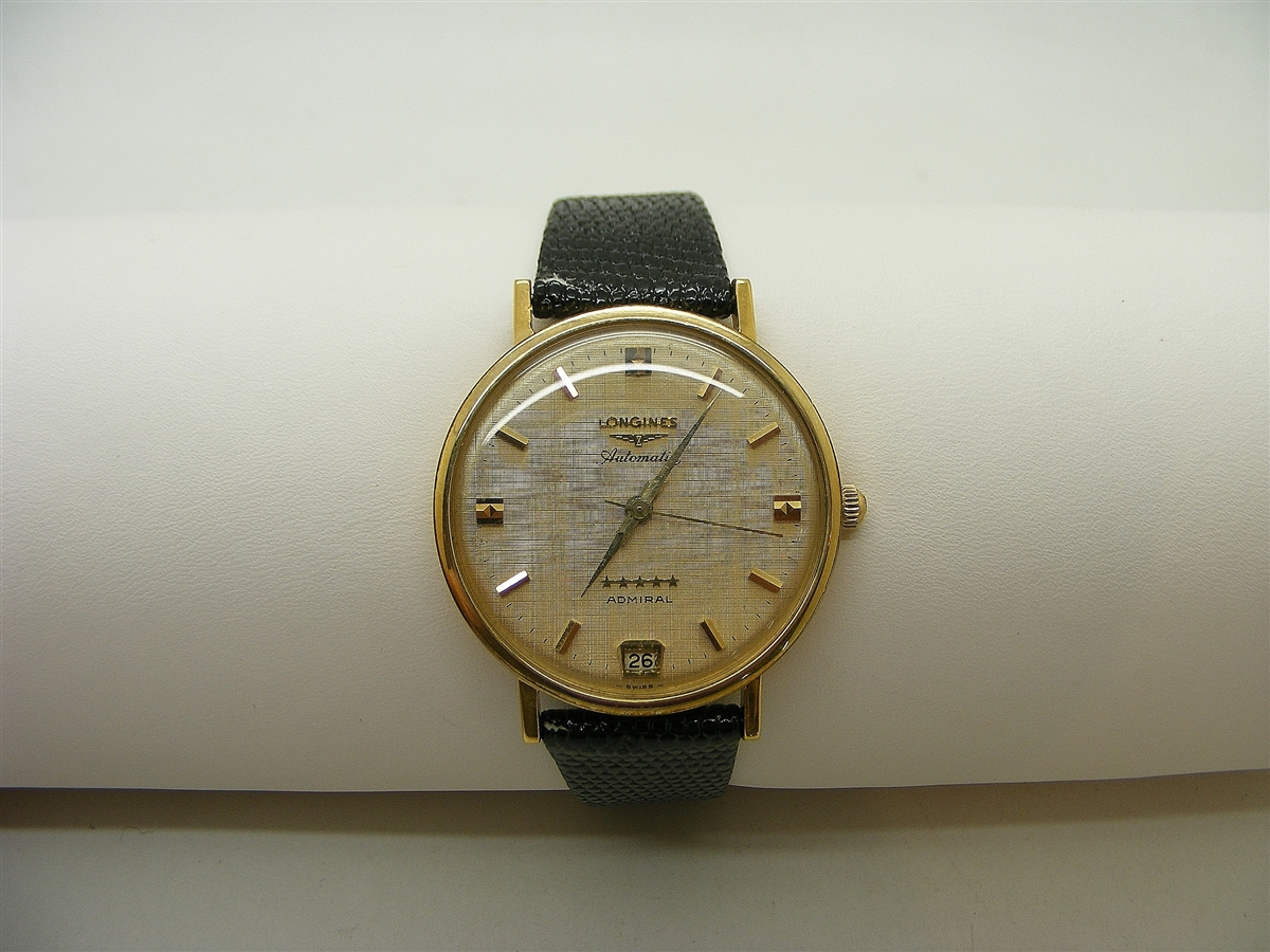 Longines Admiral 18k Yellow Gold Automatic Admiral Watch a45ab2fa18d