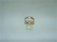 14k yellow gold Comfort wedding band