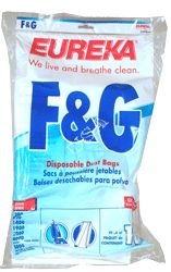 Eureka F & G Paper Bag Upright (10 pack)  52356