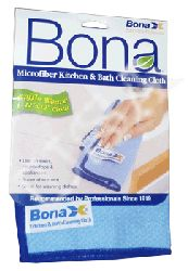 Bona Microfiber Kitchen & Bath Cloths