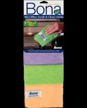 Bona Microfiber Scrub & Clean Cloths