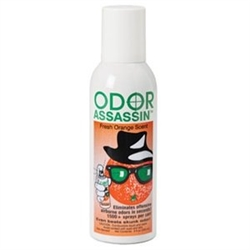 Odor Assassin - Orange Scent Non-Aerosol 6 fluid oz