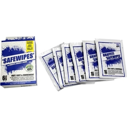 Graffiti Safewipes 6 Pack WB0066