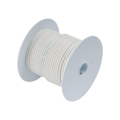 Ancor White 12AWG Tinner Copper Wire - 100'