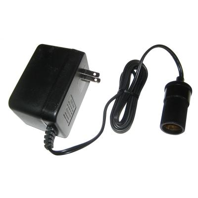 Lowrance AC Power Adapter to Female Cigarette Lighter Socket f/Power From 120V Wall Socket