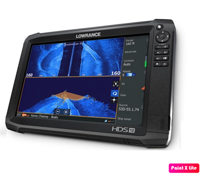 NEW Lowrance HDS Carbon 12 w/o transducer