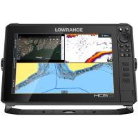 Lowrance HDS-12 LIVE w/Active Imaging 3-in-1 Transom Mount  C-MAP Pro Chart