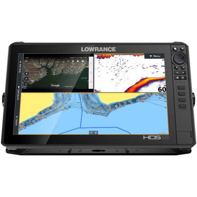 Lowrance HDS-16 LIVE w/Active Imaging 3-in-1 Transom Mount  C-MAP Pro Chart