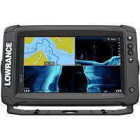 Lowrance Elite-9 Ti² Combo w/Active Imaging 3-in-1 Transom Mount Transducer  US/Canada Nav+ Chart