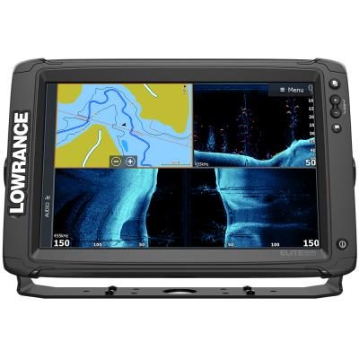 Lowrance Elite-12 Ti² Combo w/Active Imaging 3-in-1 Transom Mount Transducer US Inland Chart