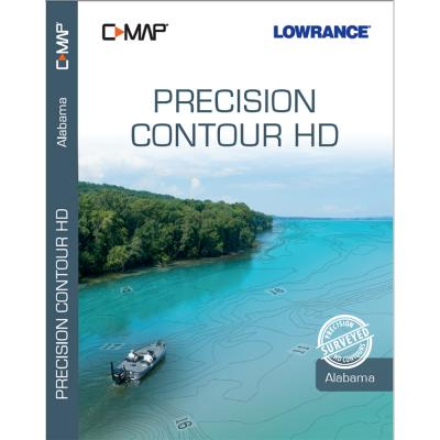 Lowrance C-MAP Precision Contour HD Chart f/Alabama