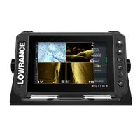 Lowrance Elite FS 7 Chartplotter/Fishfinder w/Active Imaging 3-in-1 Transom Mount Transducer