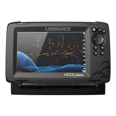 Lowrance HOOK Reveal 7 Combo w/TripleShot Transom Mount  C-MAP Contour+ Card