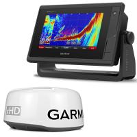 Garmin GPSMAP 742xs/GMR 18 xHD Radar Bundle