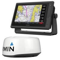 Garmin GPSMAP 942xs Display w/GMR 18 HD+ Radar Bundle