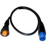 Garmin 8-Pin Transducer to 12-Pin Sounder Adapter Cable w/XID