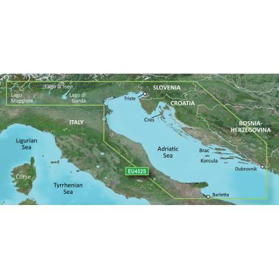 Garmin BlueChart g3 Vision HD - VEU452S - Adriatic Sea, North Coast - microSD/SD