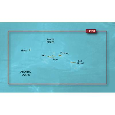 Garmin BlueChart g3 Vision HD - VEU502S - Azores Islands - microSD/SD