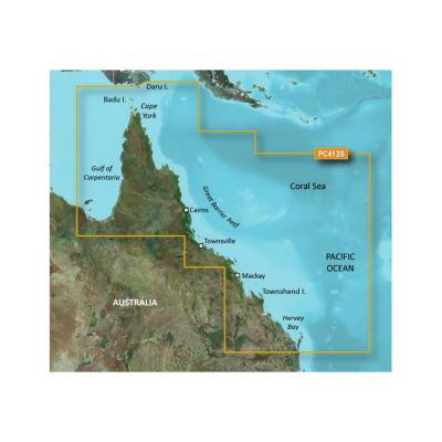 Garmin BlueChart g2 HD - HXPC413S - Mornington Island - Hervey Bay - microSD/SD