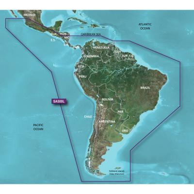 Garmin BlueChart g2 HD - HXSA600X - South America - microSD/SD