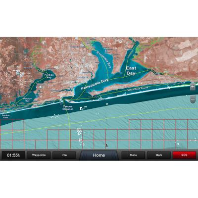 Garmin Standard Mapping - Emerald Coast Professional microSD/SD Card
