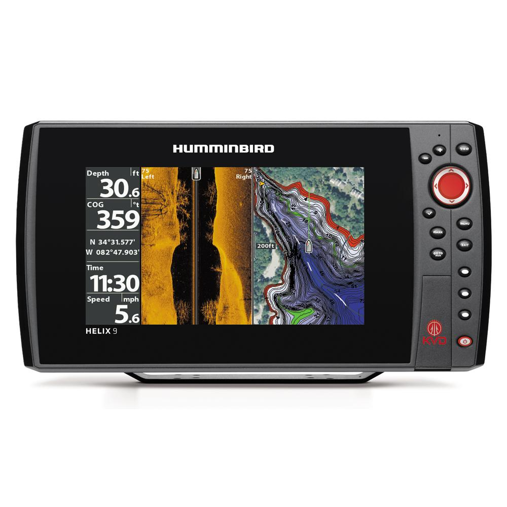 humminbird helix 9 si/gps kvd combo, Fish Finder