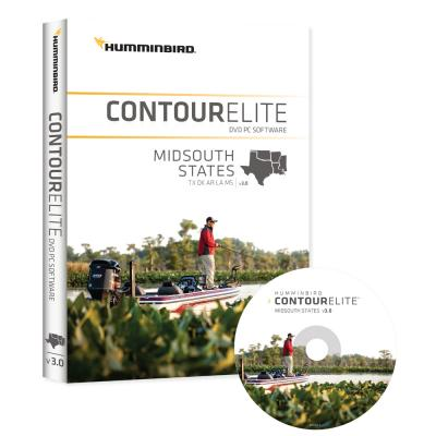 Humminbird Contour Elite - MidSouth States - Version 3