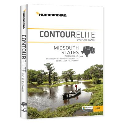 Humminbird Contour Elite MidSouth States 2018 - Version 4