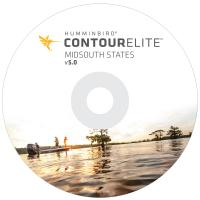 Humminbird Contour Elite Midsouth States - Version 5