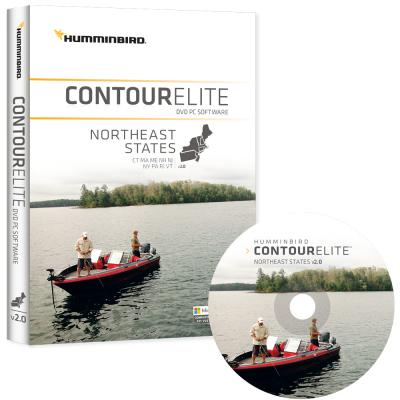 Humminbird Contour Elite - NorthEast States - Version 2