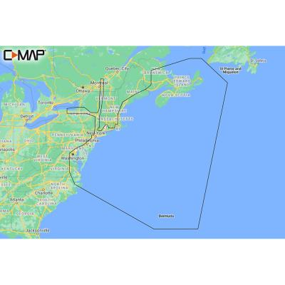 C-MAP M-NA-Y202-MS Nova Scotia to Chesapeake Bay REVEAL Coastal Chart