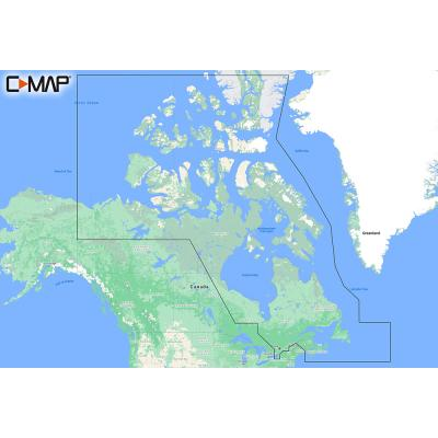 C-MAP M-NA-Y209-MS Canada North  East REVEAL Coastal Chart