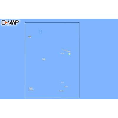 C-MAP M-NA-Y210-MS Hawaii Marshall Islands French Polynesia REVEAL Coastal Chart