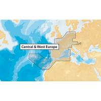 Navionics+ Central & West Europe - microSD