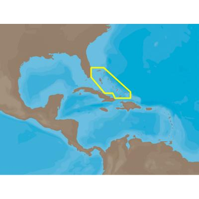 C-MAP NT+ NA-C306 - The Bahamas - C-Card