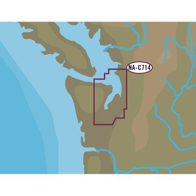 C-MAP NT+ NA-C714 Puget Sound  Straits of Juan De Fuca - C-Card Format