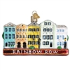 RAINBOW ROW OLD WORLD CHRISTMAS ORNAMENT