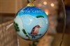 South Carolina Glass Ornament