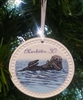 Ceramic Sea Otter Ornament