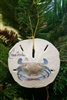 Blue Crab On Sand-Dollar Ornament