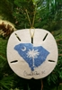 South Carolina on Sand-Dollar Ornament