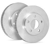 FRONT PAIR - SP Premium Brake Rotors - Uncoated - 19-0090P
