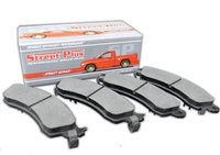 FRONT - Street Plus Ceramic Brake Pads - CD614A