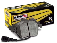 Front - Hawk Performance Ceramic Brake Pads - HB554Z.643-D1039