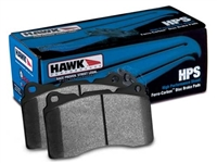 Front - Hawk Performance HPS Brake Pads - HB387F.547-D888